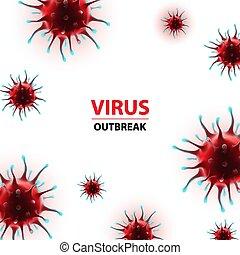 humano, vector, virus, coronavirus, brote, epidemia, ...