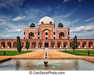 humayun's, tomb., delhi, inde