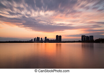 Humber Bay at Sunset