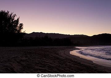 humeurs, hanalei, plage, kauai