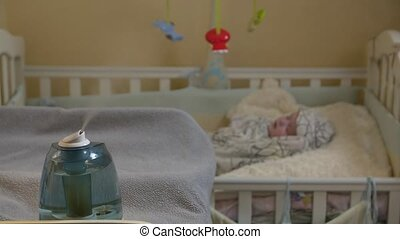 Humidifier In Child Room - Humidifier in child room newborn...