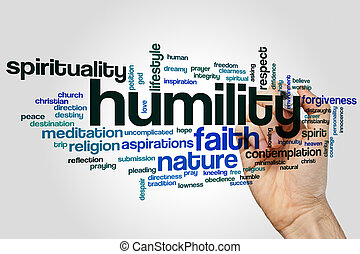Humility word cloud