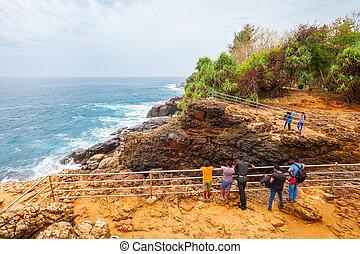 Hummanaya blowhole, Sri Lanka