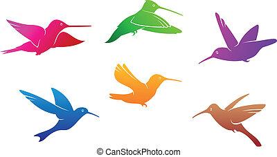 Hummingbirds symbols