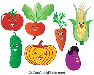 humoristic vegetables
