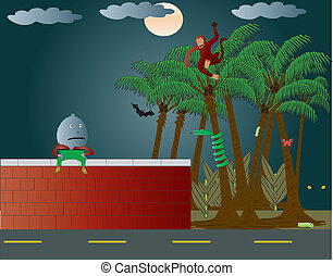 Humpty Dumpty picked the Wrong wall - An Illustration ...
