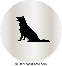 Beagle, silhouette, hund Vektor Clipart - Suchen Sie ...