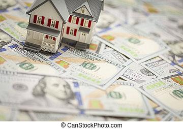 hundra, hus, dollar, en, planlagt, liten, nyligen, lagförslaget