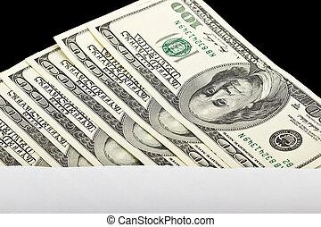 Hundred Dollar Bills in an envelope