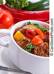 Hungarian goulash - Hungarian goulash
