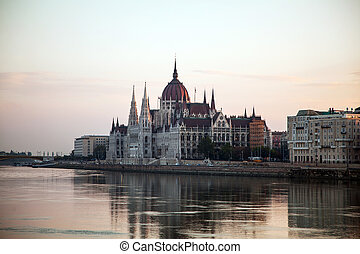 Hungarian House of Parliament in Budapest, Hungary