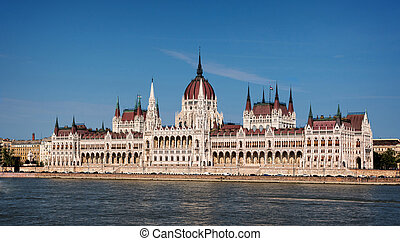Hungarian parlament - Budapest, the building of the...
