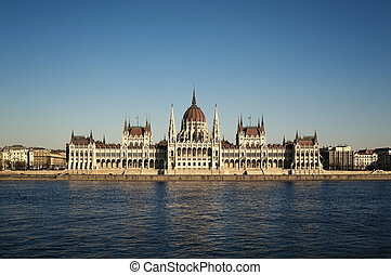 Hungarian Parliament, Budapest.