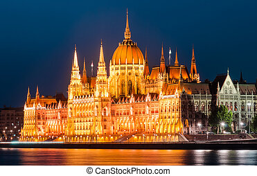 The Hungarian Parliament Building is the seat of the National Assembly of Hungary, one of Europe's oldest legislative buildings, a notable landmark of Budapest.