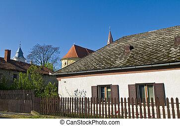 Hungarian village