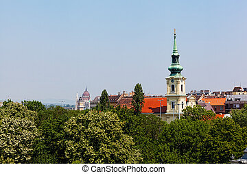 Hungary, Budapest, city views