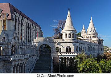 Hungary, Budapest, Fisherman's Bastion
