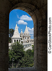 Hungary, Budapest, Fishermen's Bastion. City View