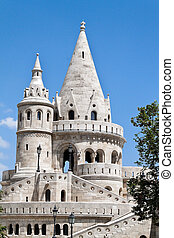 Eurtopa, Hungary, Budapest, Fishermen's Bastion. One of the landmarks of the city.