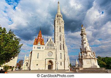Hungary. Budapest. Matthias Church