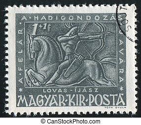 anchor on horseback