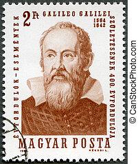HUNGARY - CIRCA 1964: A stamp printed by Hungary, shows ...