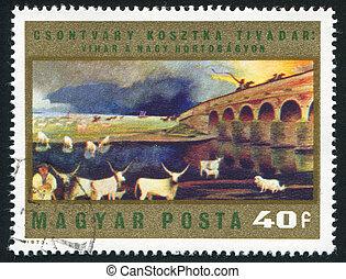 storm over Hortobagy Puszta
