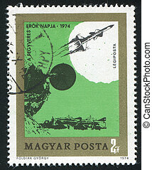 Armed Forces - HUNGARY - CIRCA 1974: stamp printed by...