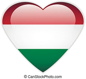 Hungary flag button.