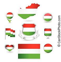 Hungary Flag Collection