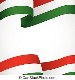 Hungary insignia on white - Decoration of Hungary insignia...