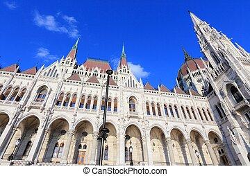 Hungary Parliament