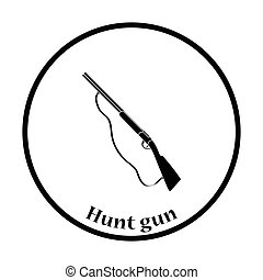 Hunt gun icon