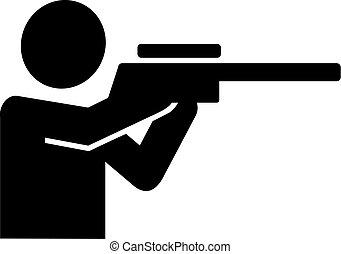 Hunter pictogram