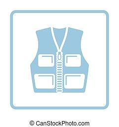 Hunter vest icon