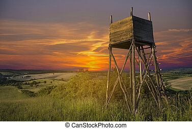 Hunters lookout tower