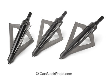 Hunting broadheads for compound bow and crossbow
