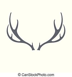 Hunting club logo icon