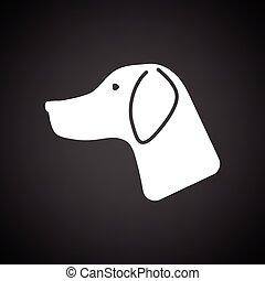 Hunting dog had  icon