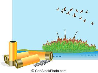 Hunting season for ducks