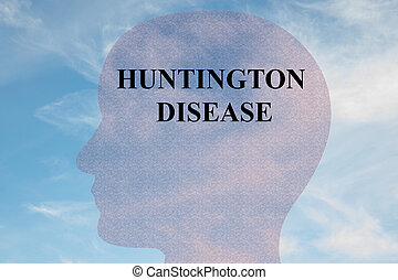 Huntington Disease - medical concept