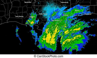 Hurricane Gustav (2008) Landfall - Hurricane Gustav Doppler...