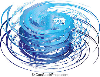 Hurricane icon logo vector eps10