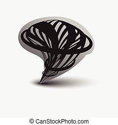 hurricane or tornado illustration