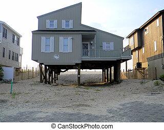 Hurricane Sandy LBI House Damage