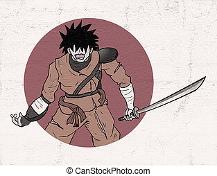 hurt warrior