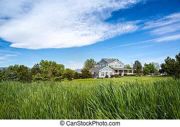 hus, amerikansk dröm