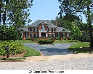 hus, amerikansk drøm