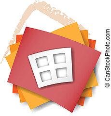 hus, begrepp, design