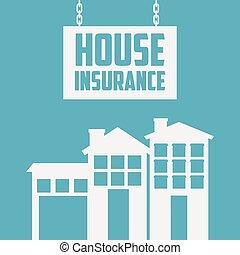 hus, forsikring, konstruktion